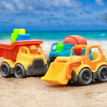 Baby toy car children beach sand toys construction vehicle engineering dredging shovel play tool