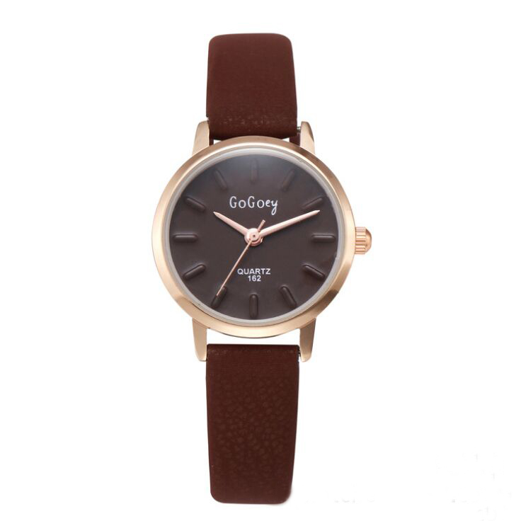 Lady girl watch Clock Gogoey brand luxury gift Fashion Female Leathe Belt Watch women watch go162 мочеприемник для водителей go girl