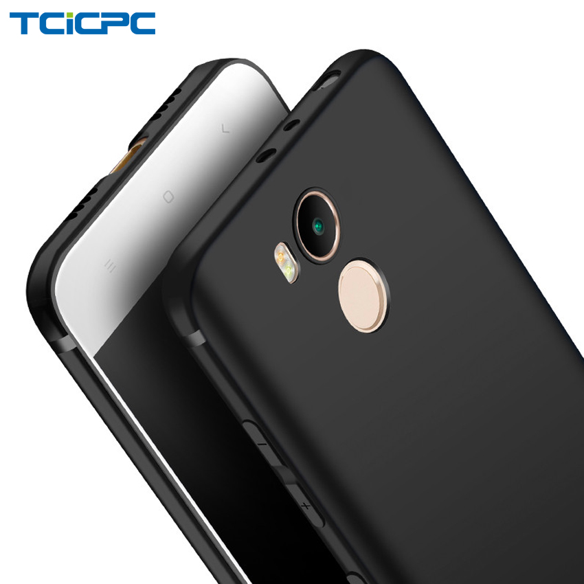 TCICPC Xiaomi Redmi 4 pro case Redmi 4 case Silicone TPU Ultra thin matte soft back cover case for Xiaomi Redmi 4 pro prime 4pro(China)