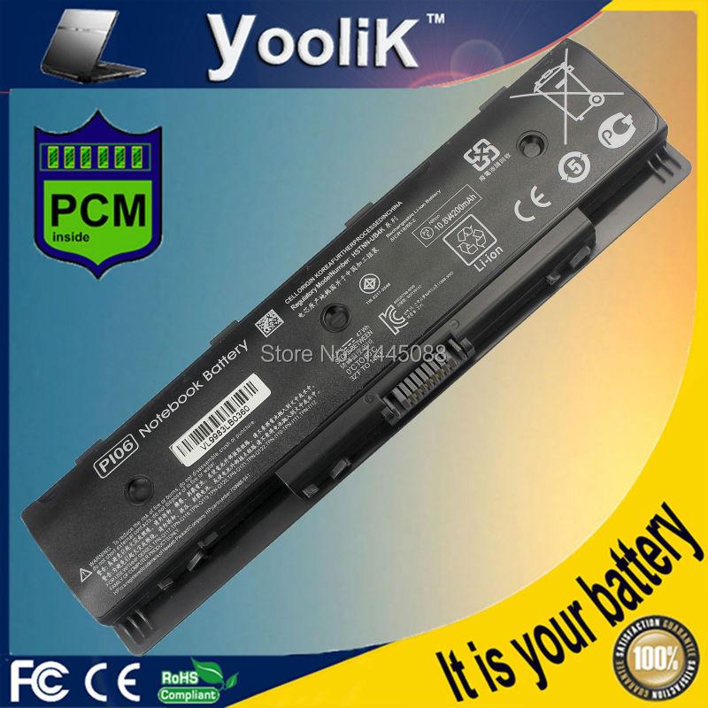 PI06 Battery for HP Pavilion 14 Pavilion 15 HQ-TRE 71004 710417-001 710416-001 HSTNN-DB4N HSTNN-DB4O 47WH ki04 battery for hp pavilion 14 15 17 ab000 hstnn lb6s db6t 800049 001 14 8v