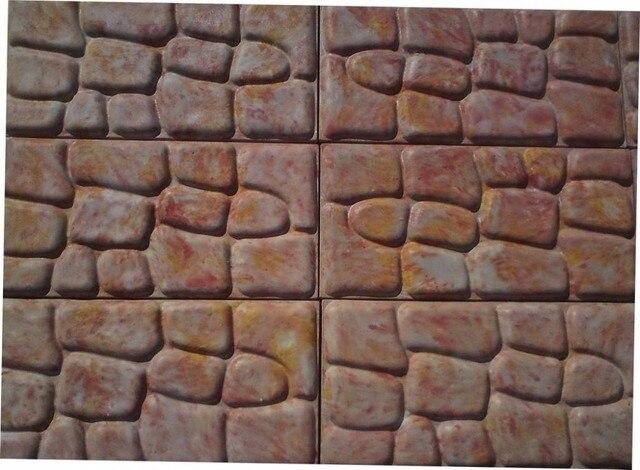 Stampi in plastica per calcestruzzo intonaco di pietra muro