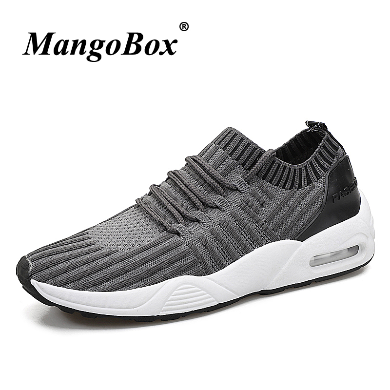 Athletic Footwear Male Black Gray Man Running Shoes Rubber Bottom Man Sneakers for Sport Breathable Lightweight Sneakers Male