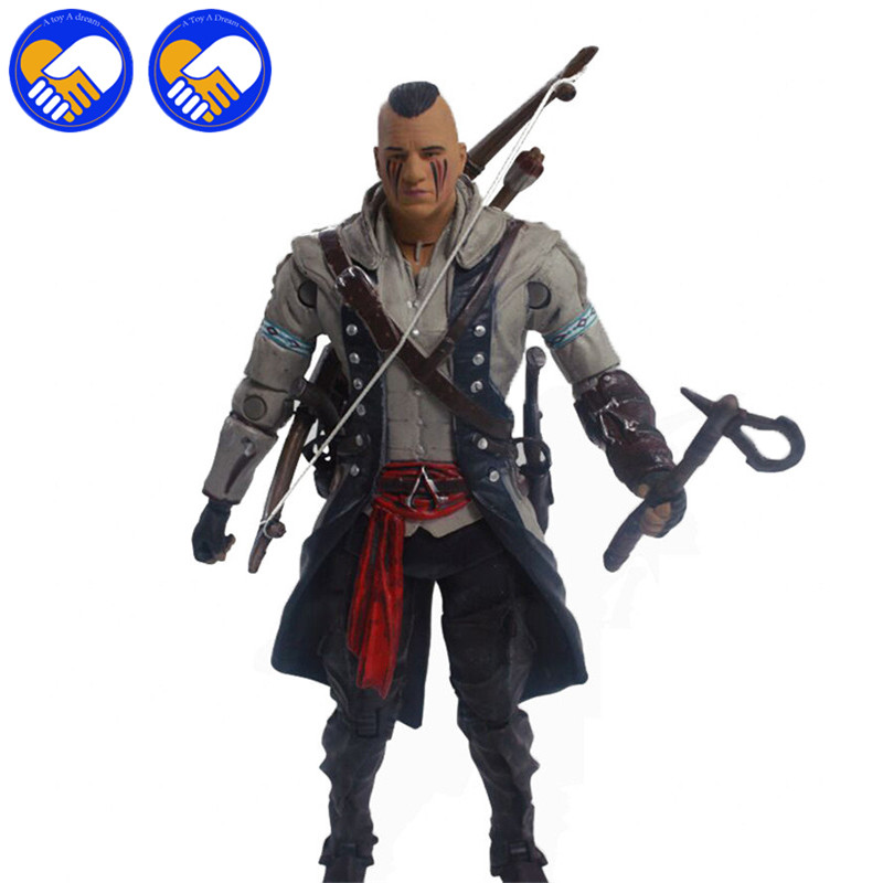Toys & Hobbies Edward Neca Iv 4 Black Flag Edward Kenway Kangna Pvc Action Figure Toy 15cm 4 Styles Best Gifts For Collect