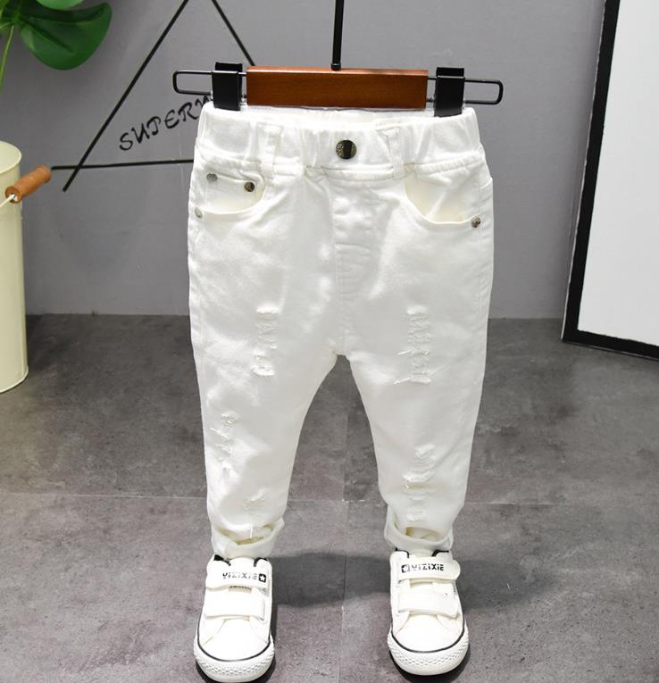 Children's pants Chorus Clothing Pure White/Black Students Contest Straight Pants Baby Boys Comfortable Latin Dance Trousers 2
