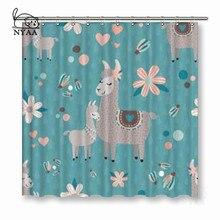 VIXM Grey Sheep Shower Curtains Polyester Fabric