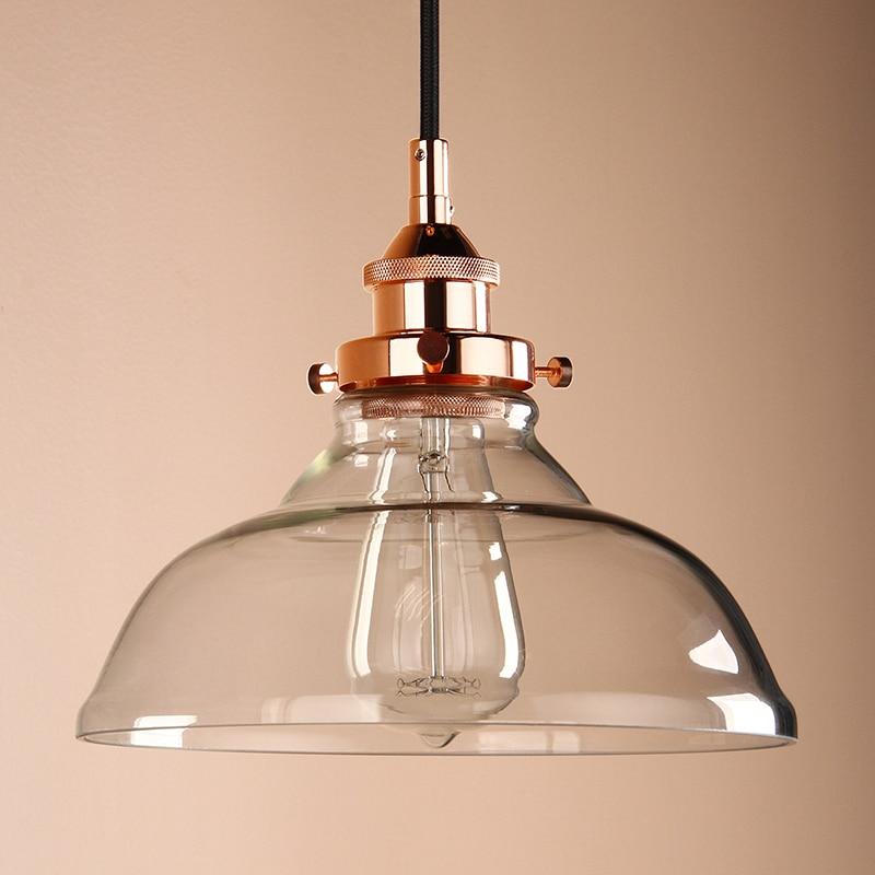 Copper And Gl Pendant Light Robotena