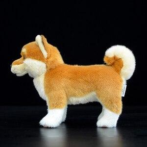Image 3 - 20cm Japanese Shiba Inu Plush Toys Kawaii Simulation Yellow Dog Stuffed Animal Dolls Soft Toys For Children Gifts