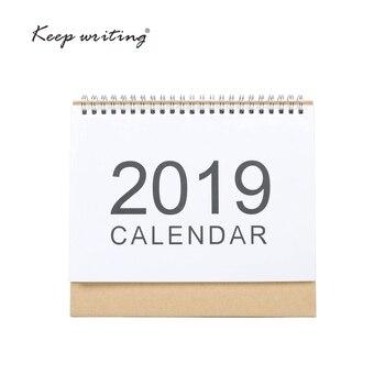 2019 Kalendarz Tabeli 2018 tygodnik planner Miesięczny plan Zrobić Listę Biurko Kalendarz Codzienne Rainlendar Prosty styl Pulpicie Kalendarz