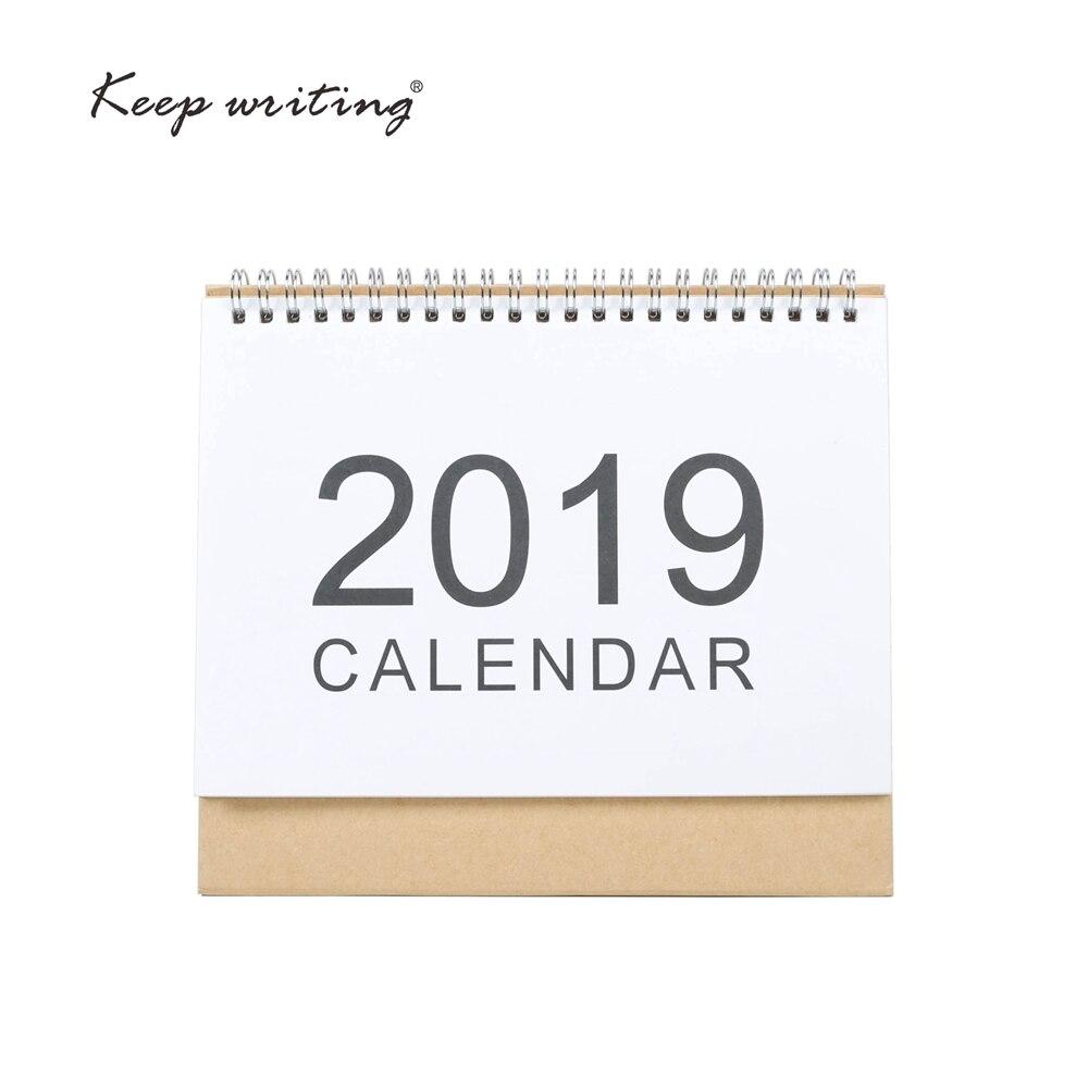 2019 tisch Kalender 2018 wöchentlich planer Monatlichen plan Zu Tun Liste Schreibtisch Kalender Täglichen Rainlendar Einfache stil Desktop Kalender