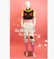 Hunter X Hunter Hisoka Uniforms Cosplay Costume Full Set Clothing Custom Made Any Size Free Shipping NEW