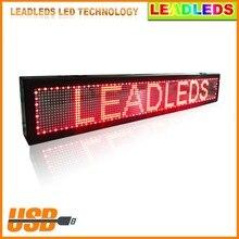 Hight Quality font b LED b font Message Digital Moving Display Scrolling Car font b Sign