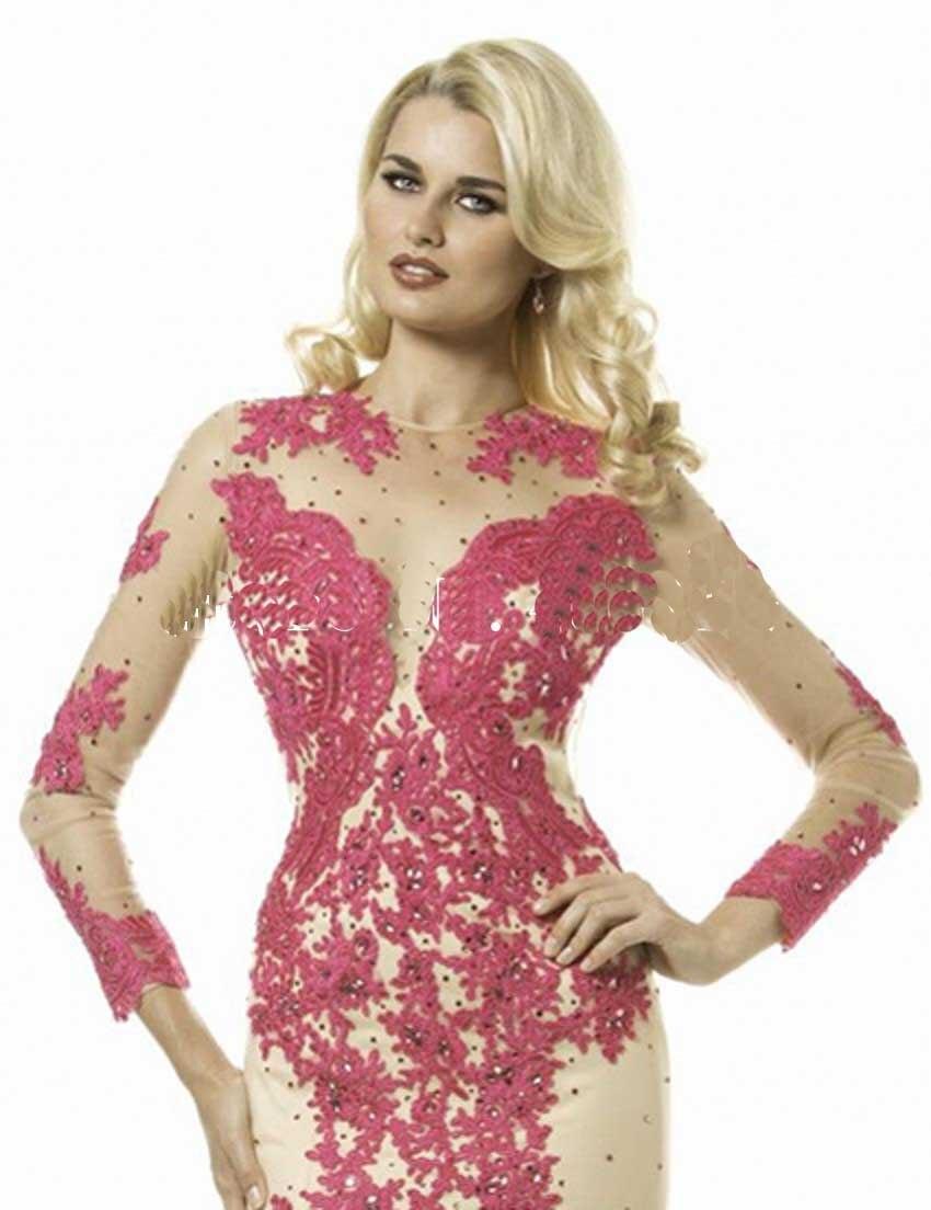 Bonito Vestidos De Dama De Perlas Motivo - Colección de Vestidos de ...