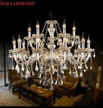 Free Shipping Crystal Modern Light Chandelier crystal Living Room lustres de cristal Pendants Chandeliers Home Lighting Indoor