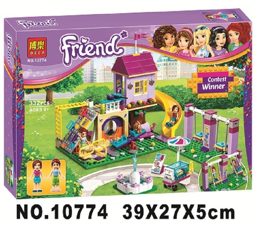 10774 332 Pcs Amis Heartlake Phare pour filles Blocs ensembles education jouets pour Enfants cadeaux Compatible avec 41325