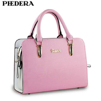 Hot Sale 2015 New Women Handbag Fashion Summer Candy Color Bags For Women Quality PU Leather