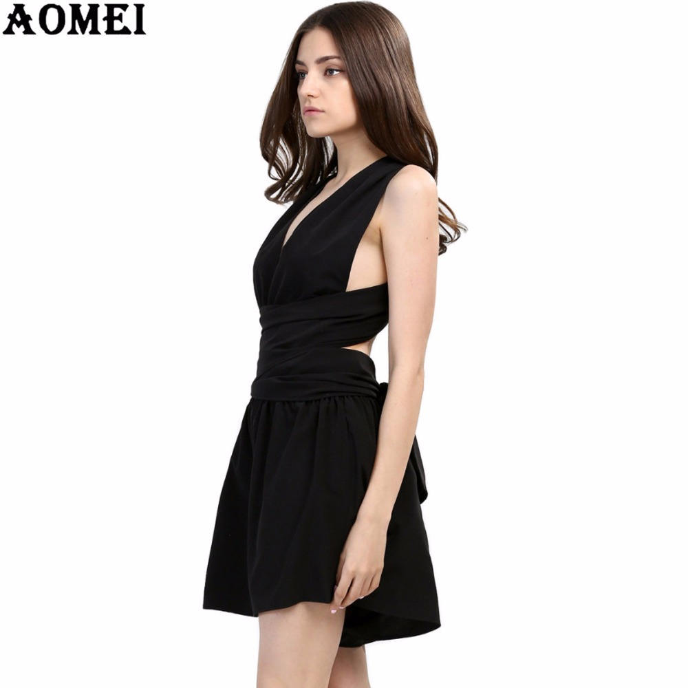 2020 Summer Beach Rompers womens jumpsuit chiffon sexy fashion sale black backless bodysuit sexy play suits macacao female wear