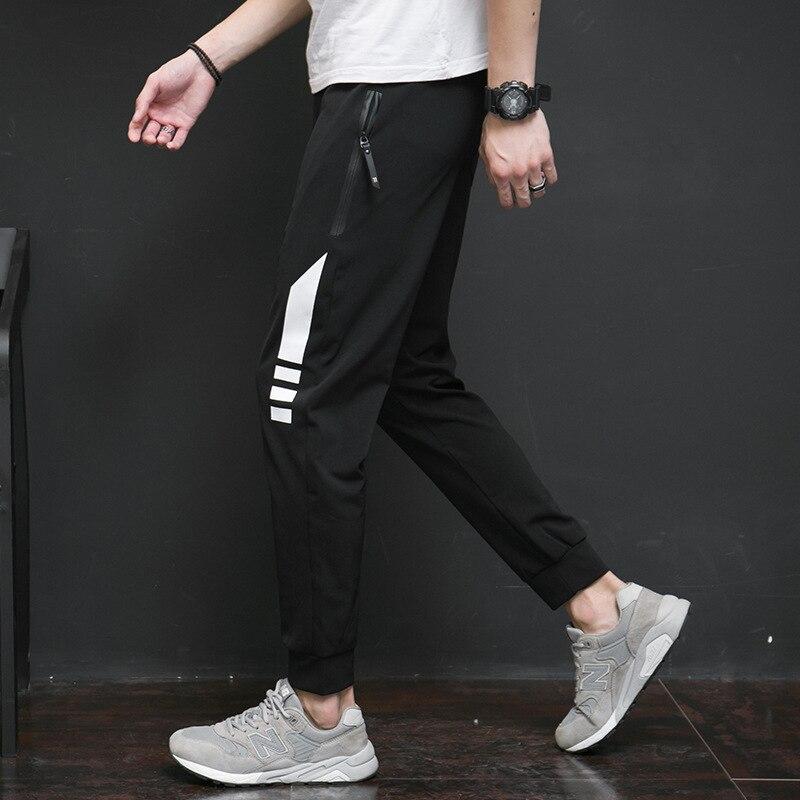 Jbersee Men Compression Pants Casual Leggings Men Fitness Workout Hip Hop Streetwear Joggers Sweatpants Breathable Pants M-4XL