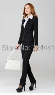 Aliexpress.com : Buy Women Office Pants With Suit Sets Plus Size
