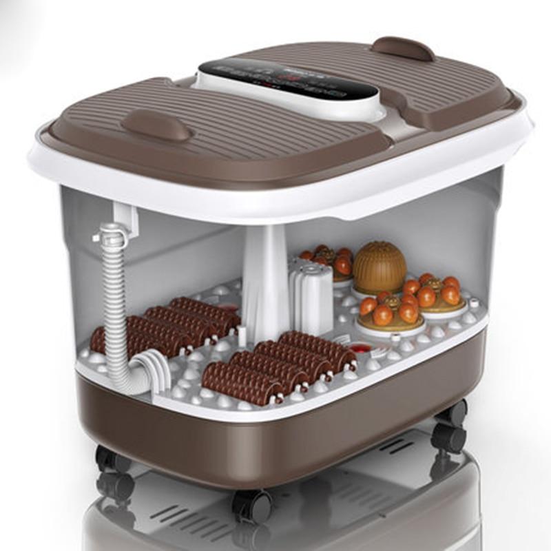 2019 Neuer Stil Fuß Badewanne Automatische Massage Fußbad Barrel Doppel Haushalt Elektrische Fuß Maschine