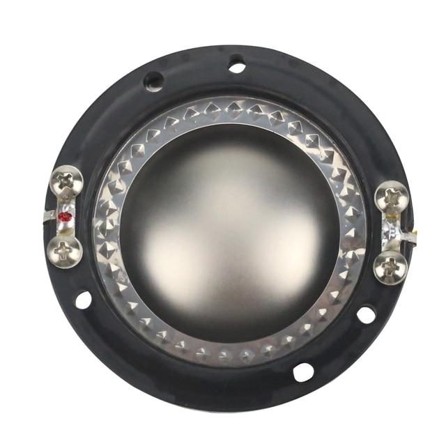 GHXAMP fils plats titane Film 44.4 MM voix bobine corne Tweeter diaphragme 44 Core 8OHM haut-parleur réparation accessoires pilote bricolage 2 pièces