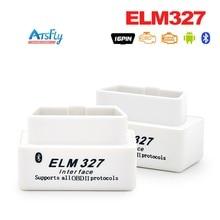 Super Mini ELM327 Bluetooth OBD2 V2 1 Version Smart Car Diagnostic Interface ELM 327 Bluetooth Scan