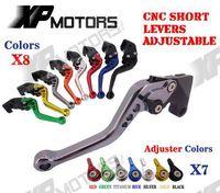 CNC Short Adjustable Brake Clutch Levers For Ducati Monster 400 2004 2007