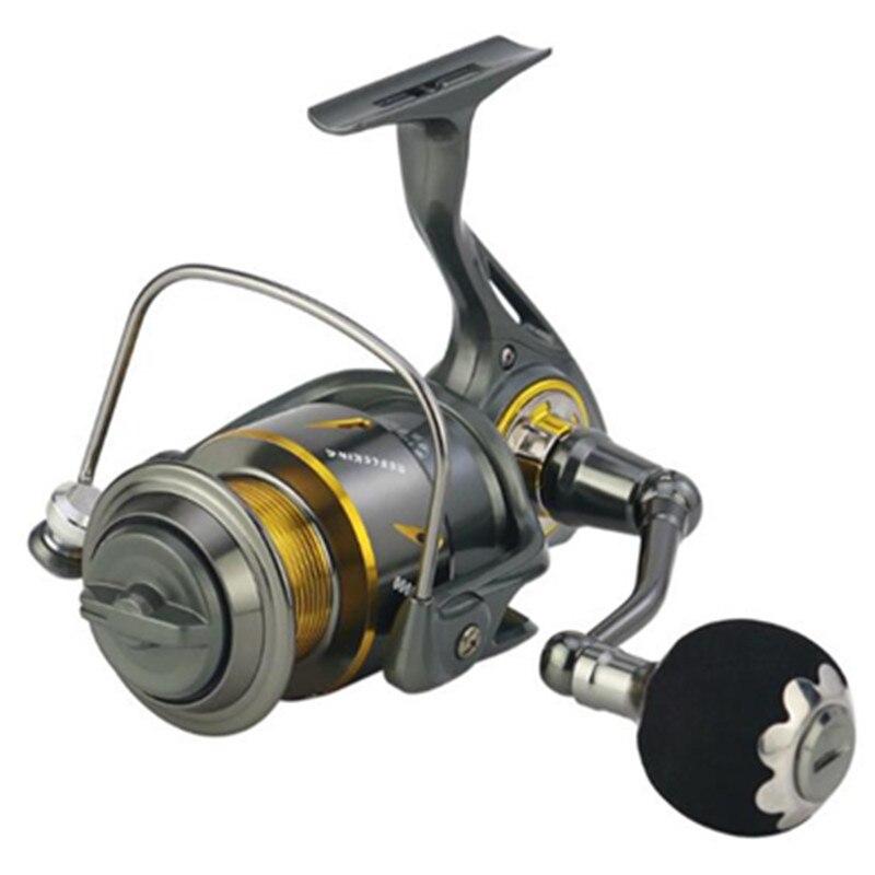 Pesca Carretilha Haute Vitesse Baitcasting Bobines 13BB 5.3: 1 moulinets de pêche Métal Rouet Appât Pliant Rocker G-Ratio Outils