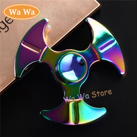 Rainbow Newest Fidget Spinner High Quality Hand Spinner For Autism And ADHD Rotation Time Long Anti