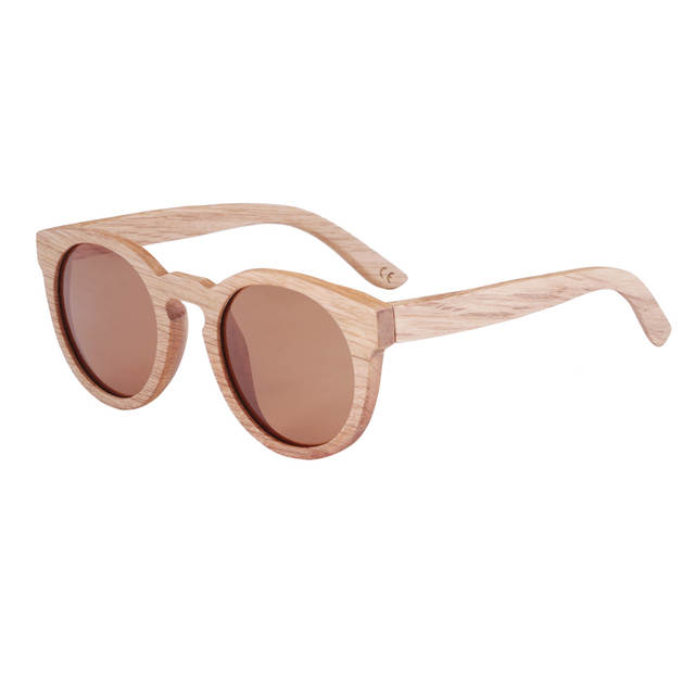 c02b134b044 BerWer New 100% Real Wood Sunglasses Polarized Handmade Bamboo women Sun  glasses Oculos De Sol