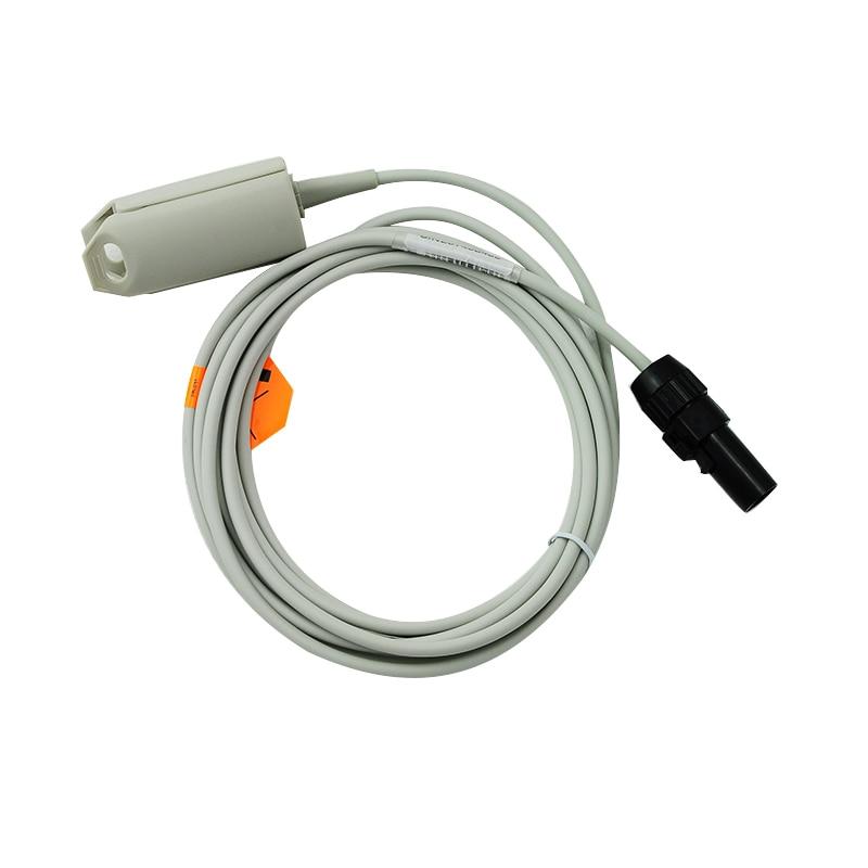Reusable Adult Oximeter Finger Sensor Clip SpO2 Sensor,Compatible Novametrix 505/510/511 Fit for Men and Women adult finger clip spo2 sensor for artema 12 pin male