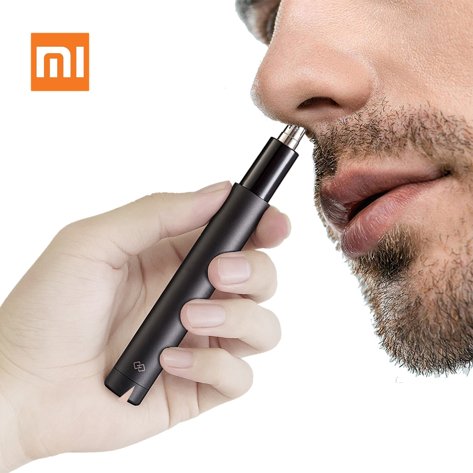 Xiaomi Mijia Electric Mini Nose Hair Trimmer HN1 Portable Ear Nose Hair Shaver Clipper Waterproof Safe Cleaner Tool For Men HT