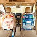Multifuncional Oxford Organizador Rangement Grosso Assento de Carro Viagens Fontes Do Bebê Saco de Múmia de Armazenamento Pendurado Saco Encantador Dos Desenhos Animados Bonito