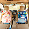 Multifunction Oxford Organizer Rangement Thick Car Seat Travel Storage Mummy Hanging Bag Lovely Cartoon Cute Baby Supplies Bag