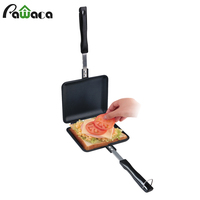 Sandwich Grill Press Bread Baking Sandwich Snack Maker Dessert Waffle Flip Pan Nonstick Double Side Pressure