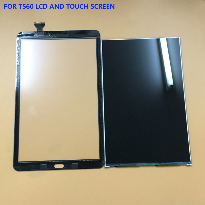 2 Color For Samsung Galaxy Tab E 9.6 SM-T560 T560 T561 Touch Screen Sensor Digitizer Glass + LCD Display Screen Monitor Panel vicor vi 261 cu bm f7 vi 261 iu bm f7