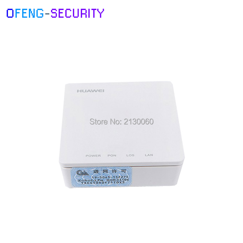 Original Huawei HG8310M single GE ethernet port EPON terminal FTTH ONU, white colour, latest version, English interface