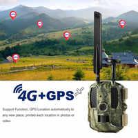 GPS Hunting Camera 4G FDD-LTE Camera Chasse 1080P Video Photo-Traps Trail Camera BL480L-P Wild Camera Night Vision Photo traps