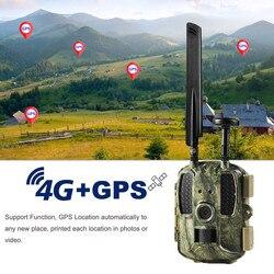 Gps 사냥 카메라 4g FDD-LTE 카메라 chasse 1080 p 비디오 사진 트랩 트레일 카메라 BL480L-P 와일드 카메라 야간 투시경 사진 트랩