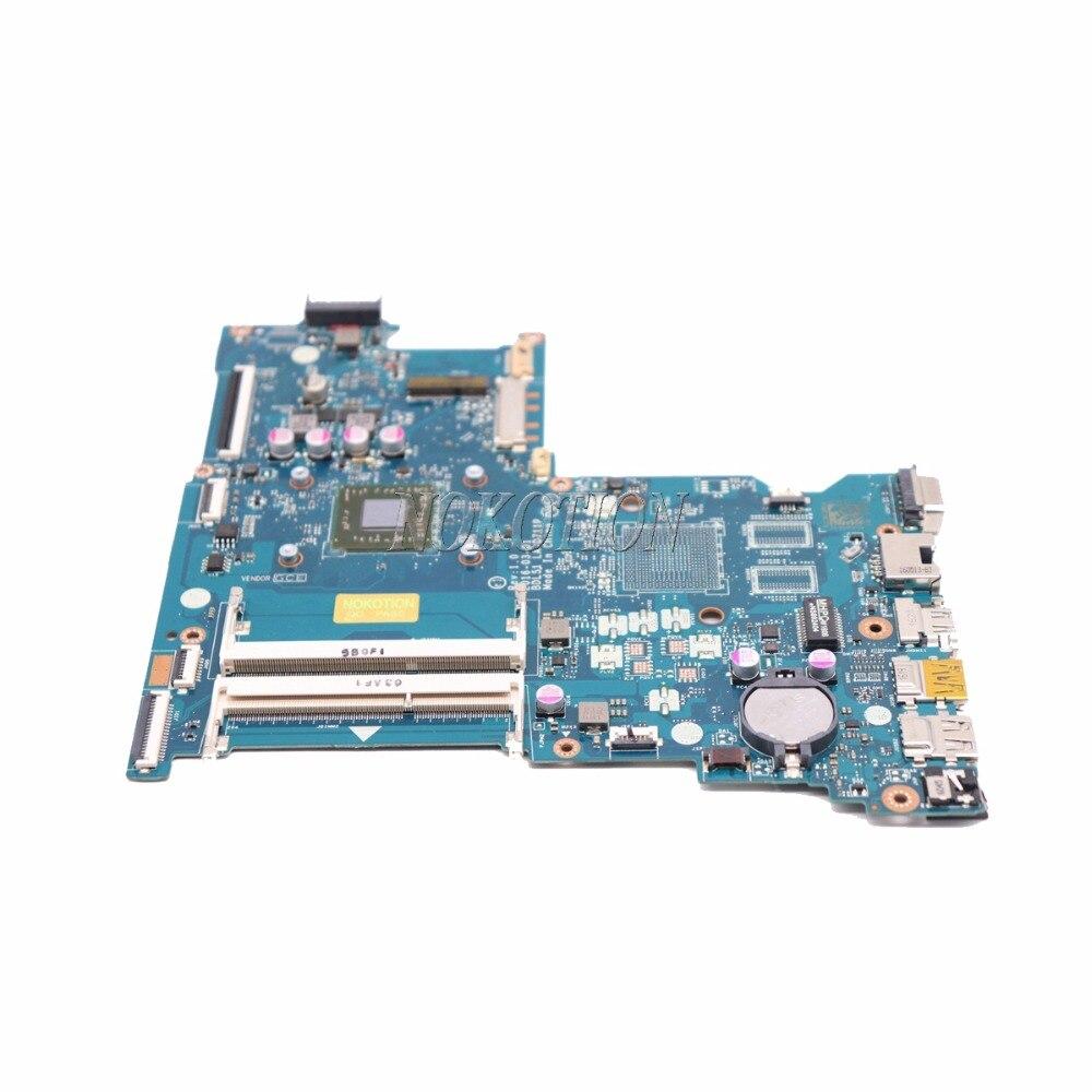 NOKOTION 854962-601 854962-001 Scheda Madre Del Computer Portatile per HP 255 G5 15-BA BDL51 LA-D711P 858589-601 858589 -001 scheda principale
