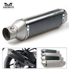 купить Motorcycle Exhaust pipe Muffler Escape DB-killer 36MM-51MM FOR DUCATI 1198R 749S 848 EVO 999 DIAVEL M1100 MONSTER 748 онлайн