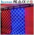 Leeman рулон светодиодный дисплей, Мягкий гибкий oled-дисплей занавески экран дисплея, Из светодиодов сетчатая ткань лёгкие из светодиодов сетчатая ткань занавески экран P10 / P20mm