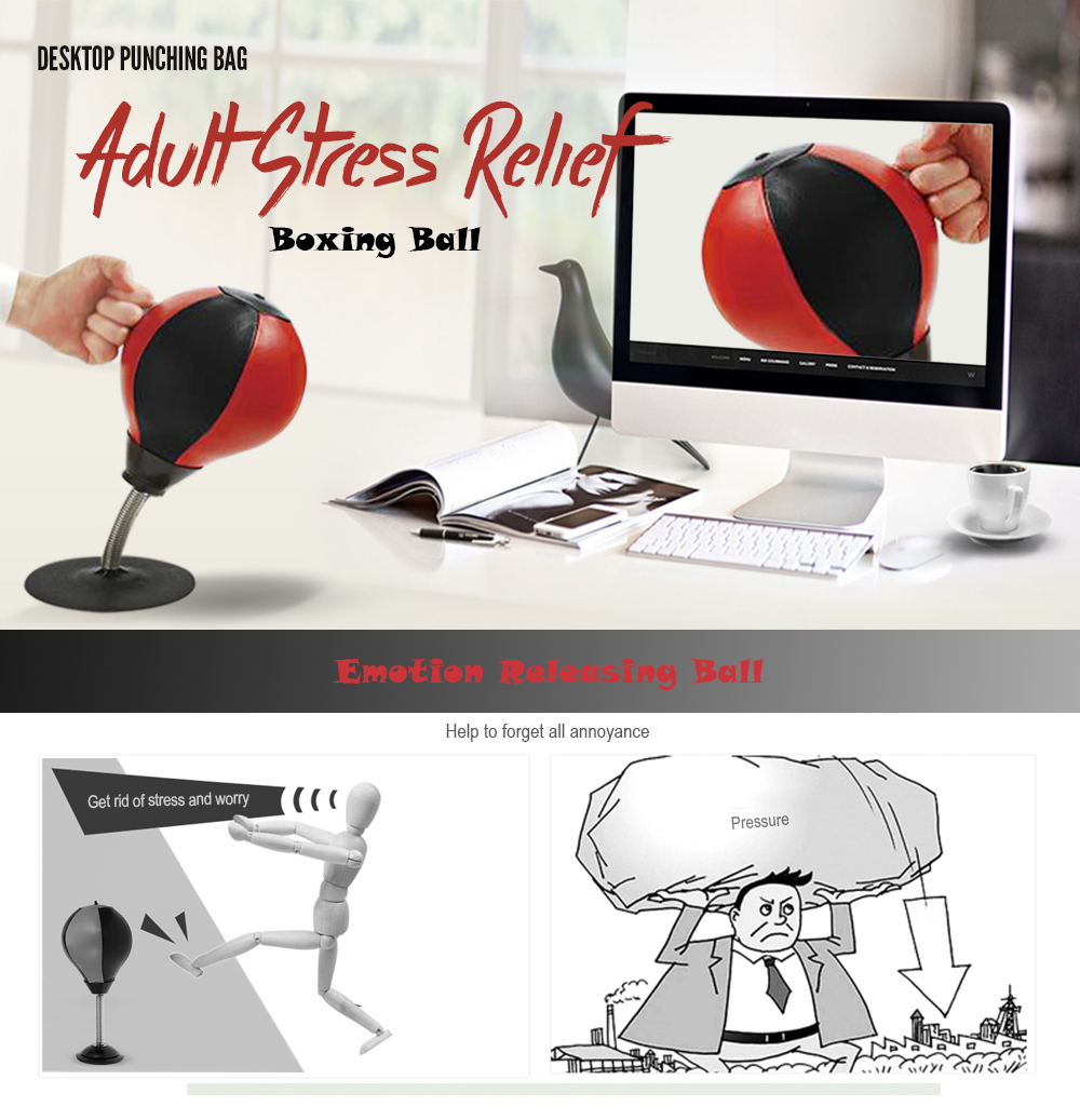 Desktop Punching Bag Stress Relief Boxing Ball 1