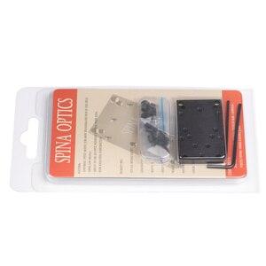 Image 5 - Glock Rear Sight Plate Porous Base Mount Fit Universal Red Dot Sight Handgun Accessories