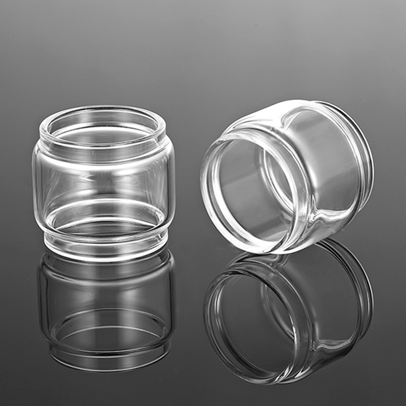 About 4ml/5.5ml Glass Tube Replacement For GEEKVAPE ZEUS 25mm Single Coil RTA Tank Or GeekVape Zeus Dual RTA 26mm Tank