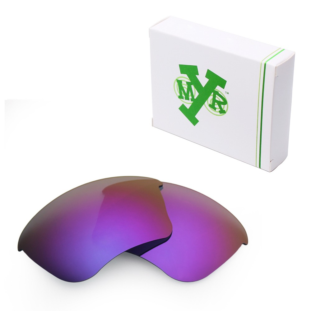 Mryok POLARIZED Replacement Lenses for Oakley Half Jacket XLJ Sunglasses Plasma Purple