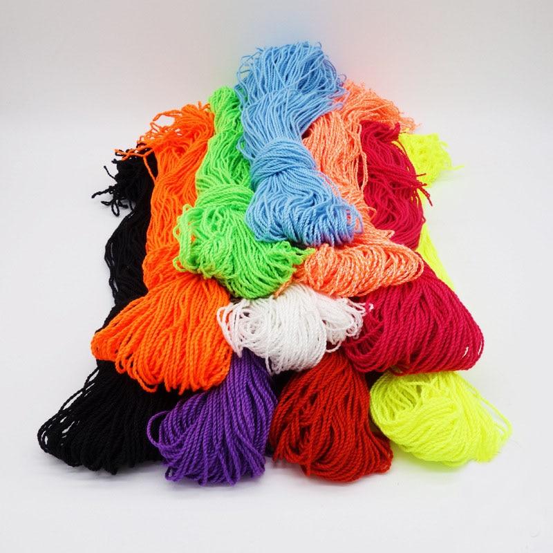 50/100 Pcs/lot Yoyo String Accessories YO YO  Rope YOYO Rope Professional Yoyo Gyro Polyester Line 5 Color