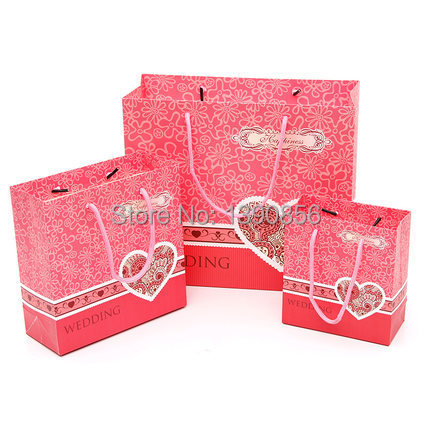 2015 wholesale antistatic fashion wedding gift bags paper gift bags ...