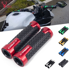"""Buy Motorcycle Grips Non Slip Rubber Bar End 7/8"""" 22mm Handlebar Thruster Grip For KAWASAKI Z750 Z 750 R/S Z750R Z750S handle bar directly from merchant!"""