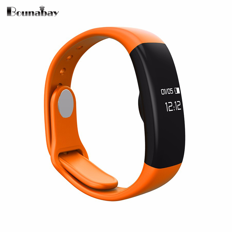 BOUNABAY large Bluetooth 4.0 Smart woman watch for apple android phone waterproof Camera women Clock Touch Screen ladies Clocks top brand smart watch camera 1 2 inch tft capacitive touch screen shaking bluetooth heartrate for ios apple phone android phone