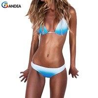 BANDEA 2017 Sexy Bikini Set Women Swimwear Female Brazilian Bikini Halter Top Swimwear Strappy Bathing Suit